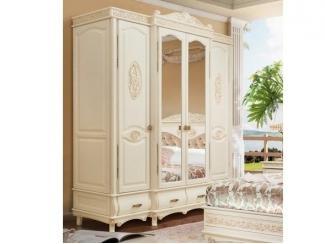 Шкаф Флоренция 4-дверный - Мебельная фабрика «Ивна», г. Яблоновский