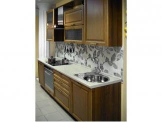 Прямой кухонный гарнитур Анжелика  - Мебельная фабрика «Виктория», г. Ульяновск