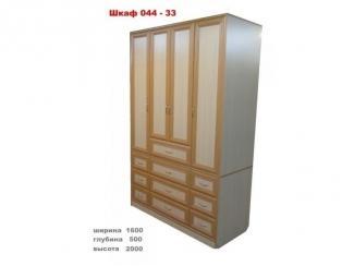 Шкаф 044-33 - Мебельная фабрика «МЕБЕЛов»