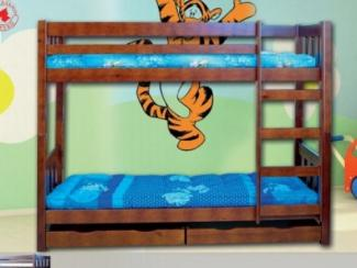 Кровать двухъярусная аврора - Мебельная фабрика «Боринское»
