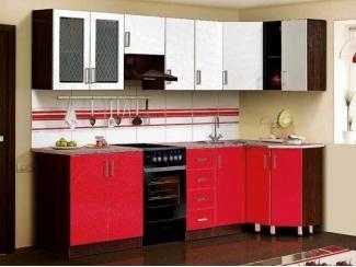 Яркая кухня Гурман 7  - Мебельная фабрика «Аджио»