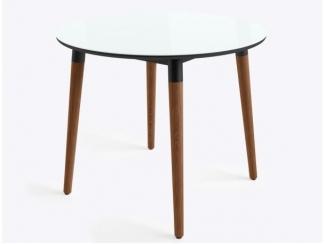 Круглый обеденный стол Бейз - Изготовление мебели на заказ «Кухни ЧУ»