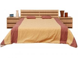 Кровать двойная Энигма П030.37М - Мебельная фабрика «Пинскдрев»