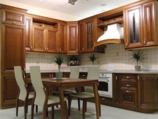 Кухня Бергонци массив - Мебельная фабрика «Илья-Сейф (Добрые кухни)»