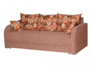 Диван прямой с цветными подушками Блюз-7 - Мебельная фабрика «Росмебель», г. Боголюбово