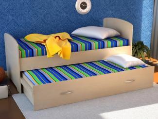 Детская 2х уровневая кровать ЛДСП - Мебельная фабрика «Лига Плюс»