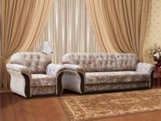 Красивый тканевый диван Лиза Е15-02 - Мебельная фабрика «Лиза», г. Краснодар