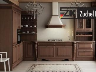 Кухонный гарнитур угловой Бремен Браун - Мебельная фабрика «Zuchel Kuche»