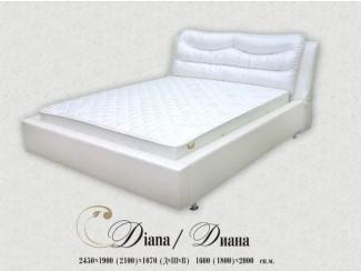 Кровать Диана - Мебельная фабрика «Angelo Astori»
