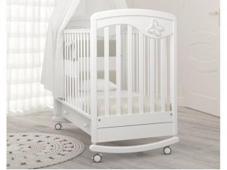 Детская кроватка Гандылян Джулия бабочка - Мебельная фабрика «Гандылян»