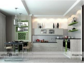 Кухня Фореста с фасадом из ТСС плит - Мебельная фабрика «Мебель Хаус», г. Ульяновск