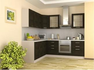 Кухня с фасадом шпон - Мебельная фабрика «Крона Мебель»