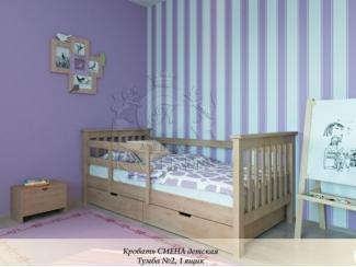 Деревянная детская кровать Сиена - Мебельная фабрика «Каприз»