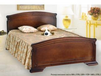 кровать Критсина 1 дерево - Мебельная фабрика «Боринское»