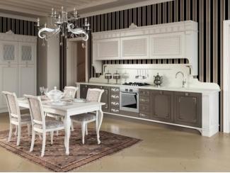 Классическая глянцевая кухня  Liocorno - Мебельная фабрика «Атлас-Люкс», г. Москва