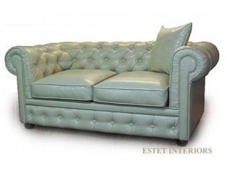 Двухместный диван Честерфилд - Мебельная фабрика «ESTET INTERIORS»