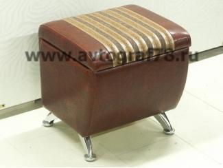 Пуф с ящиком Дипломат  - Мебельная фабрика «Автограф»