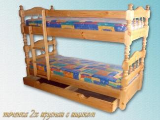 Кровать 2-х ярусная Закрытая