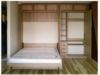Шкаф с подъемно-откидной кроватью - Мебельная фабрика «Мастер Мебель»