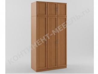 Шкаф распашной 3-х дверный с антресолью - Мебельная фабрика «Континент-мебель»