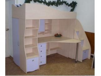 Детская  кровать-чердак - Мебельная фабрика «Три кита»