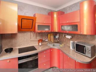 Кухня угловая МДФ эмаль - Мебельная фабрика «Маруся мебель»