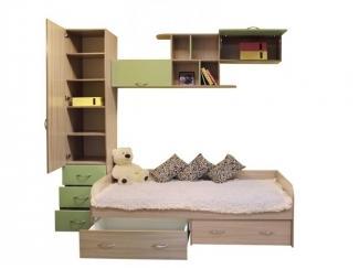 Детская Карамелька комбинация 1 - Мебельная фабрика «Балтика мебель»