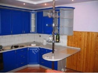Синяя угловая кухня - Изготовление мебели на заказ «Игал»