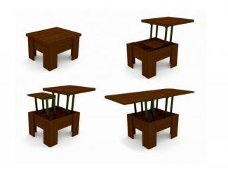 Стол Гранд - 4 журнально-обеденный трансформируемый - Мебельная фабрика «Гранд-МК»