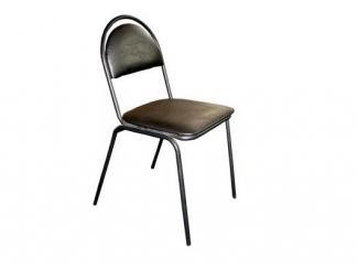 Черный стул Верди  - Мебельная фабрика «Металл конструкция»