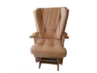 Кресло-качалка из натурального дерева