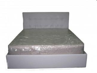 Светлая кровать в спальню - Мебельная фабрика «Кубань-комфорт»
