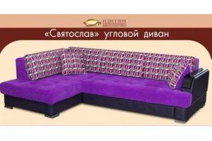 Диван угловой Святослав - Мебельная фабрика «Идиллия»