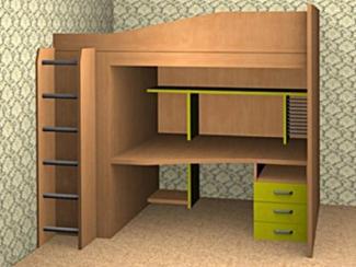 Детская Уголок школьника 1 - Мебельная фабрика «Мебель Jazz»