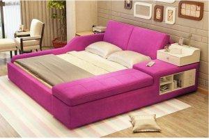 Просторная двуспальная кровать Аманда - Мебельная фабрика «Максимус»