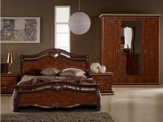 Спальный гарнитур «Наоми орех» - Оптовый мебельный склад «Дина мебель»