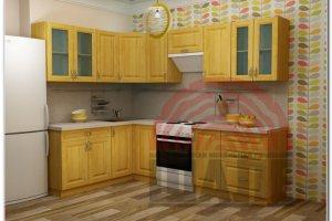 Угловая кухня Сигма-Оксфорд - Мебельная фабрика «ВМК-Шале»