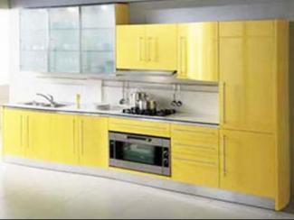 Кухонный гарнитур прямой 86 - Мебельная фабрика «Вершина комфорта»
