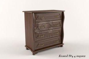 Комод-4 4 ящика - Мебельная фабрика «Каприз»