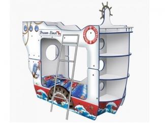Кровать - Корабль Двухпалубный «ДримЛайнер» - Мебельная фабрика «КАРоБАС»