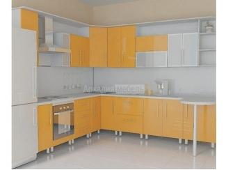 Кухня угловая МДФ пластик Олимп 1 - Мебельная фабрика «Аркадия-Мебель»