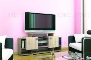 ТВ тумба Парус 5 - Мебельная фабрика «ТЭКС»