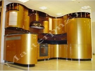 Кухонный гарнитур из пластика с гнутыми фасадами 92 - Мебельная фабрика «Master»