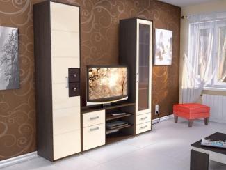 Гостиная стенка Домино - Мебельная фабрика «Евромебель»