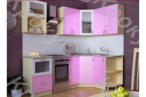 Кухонный гарнитур угловой Дарина 18 - Мебельная фабрика «Крокус»