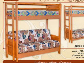 кровать «Двухъярусная» Мд-4к