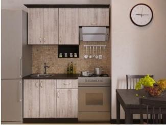 Кухня прямая малая Сосна выбеленная - Мебельная фабрика «РОСТ»