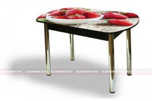 Стол стеклянный Европейский ЧС 74 - Мебельная фабрика «Александрия», г. Ульяновск