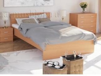 Кровать в спальню Соната - Мебельная фабрика «Армос», г. Иваново