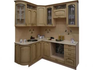 Кухня угловая Патина беленый дуб - Мебельная фабрика «Техсервис»